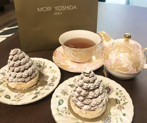パティスリー『MORI YOSHIDA』の看板スイーツ「モンブラン」