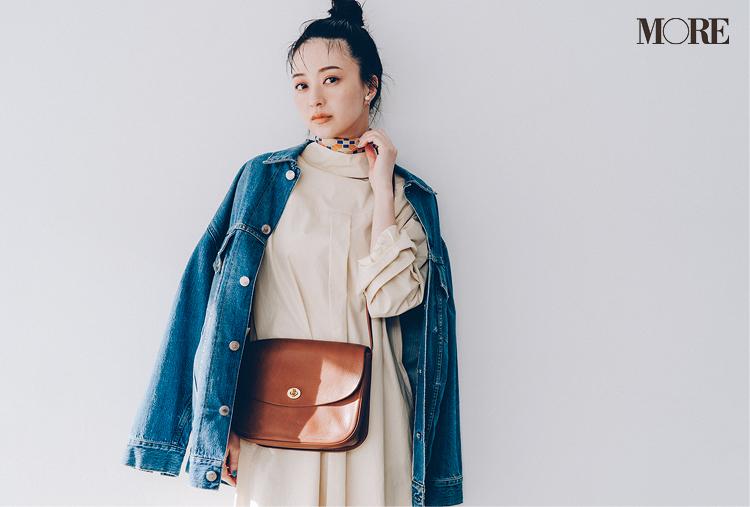 スタイリスト石上さんお気に入りのミミベリーのバッグ