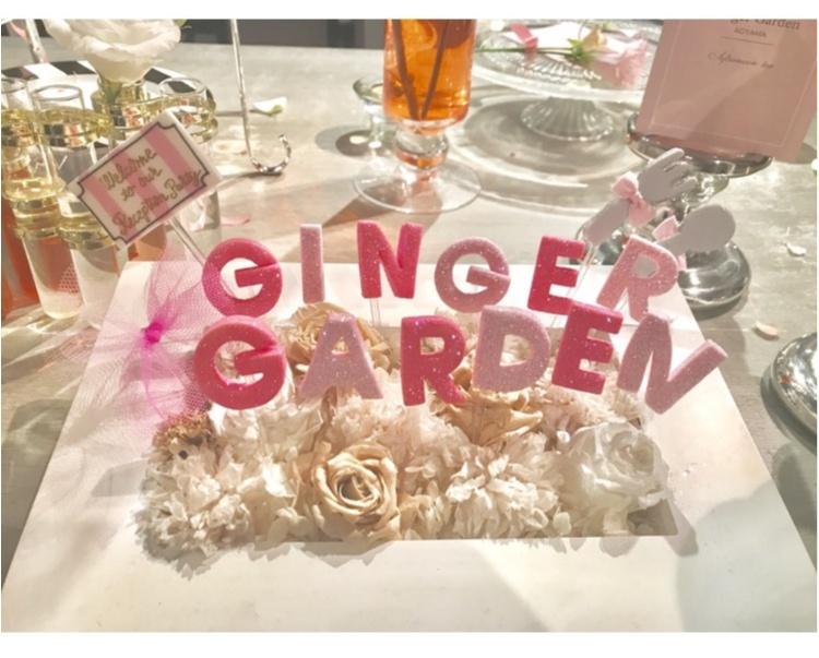 【FOOD】今1番可愛い#アフタヌーンティー はここ♡女子会にぴったり⋈ #GingergardenAOYAMA_1