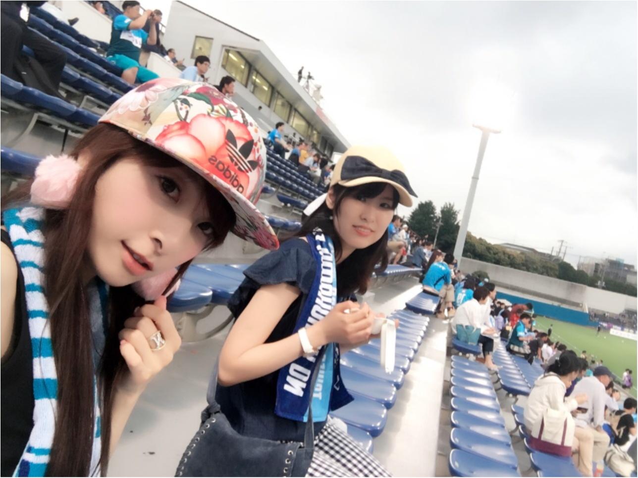 ♡【サッカー観戦】横浜FCvs水戸ホーリーホック♡モアハピ◡̈のぞみ♡_10