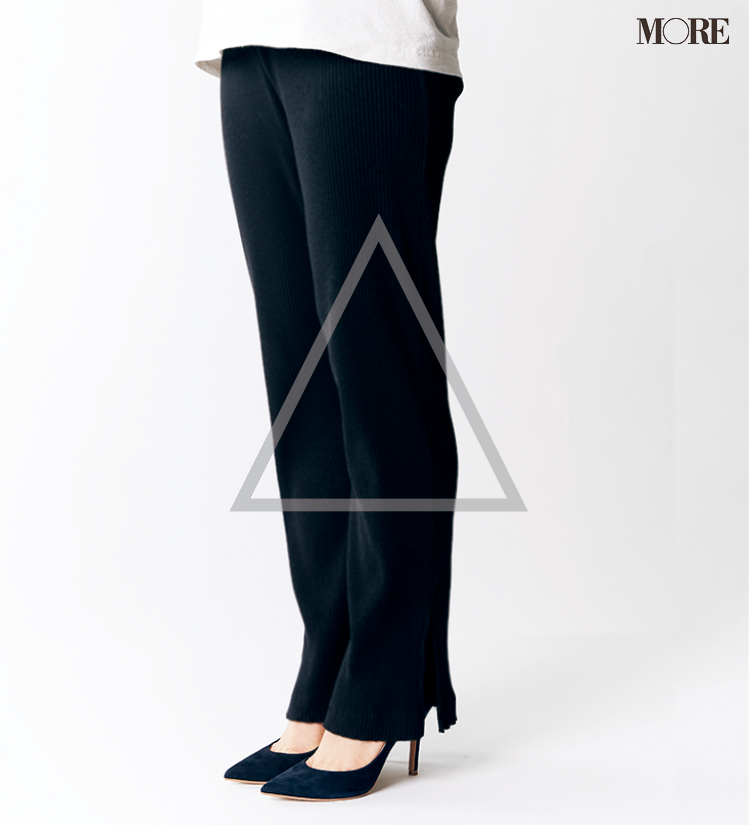 テーパードパンツ&フレアパンツ、どの靴と合わせるのがいちばんきれい? 全部の相性比べてみました!_6_6