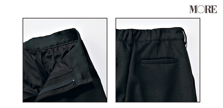 """普通の黒パンツとは違う! """"美脚""""の黒、なら『シンゾーン』と『ジーナシス』。この2本のパンツがよき♡_8"""