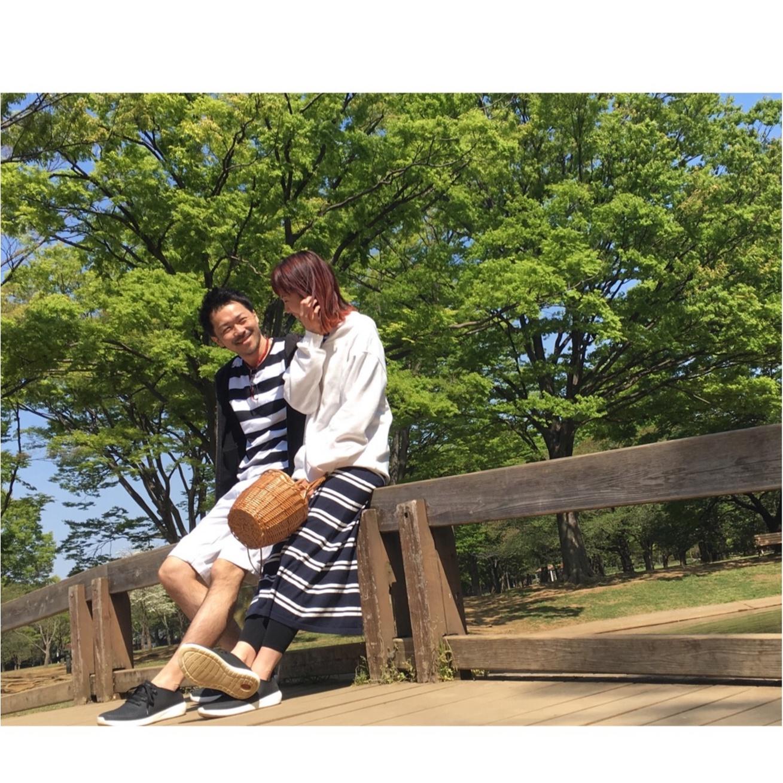 ポイントはここ♡ボーダーを使って夫婦で春っぽいリンクコーデ☆2選☆_3