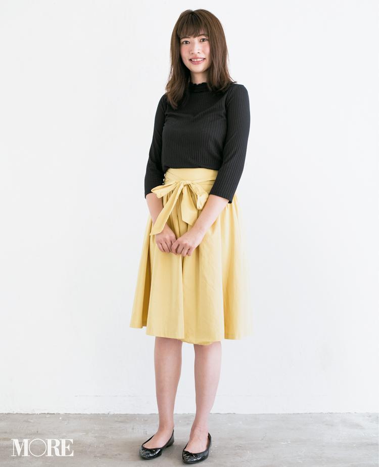 【読者変身】無難、甘すぎ、いつも同じ……きれい色スカートのお悩み、スタイリスト高野さんが解決します☆ 記事Photo Gallery_1_2