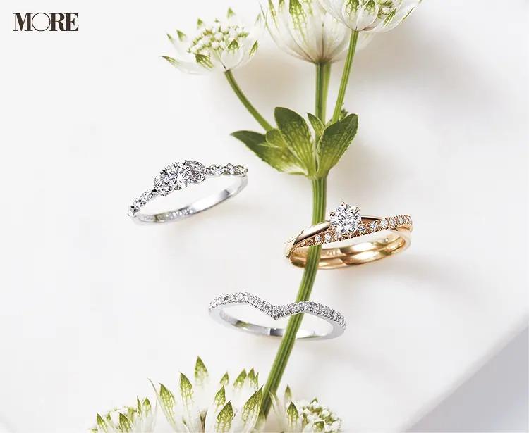 結婚指輪におすすめのエンゲージメントリング2種とエタニティリング