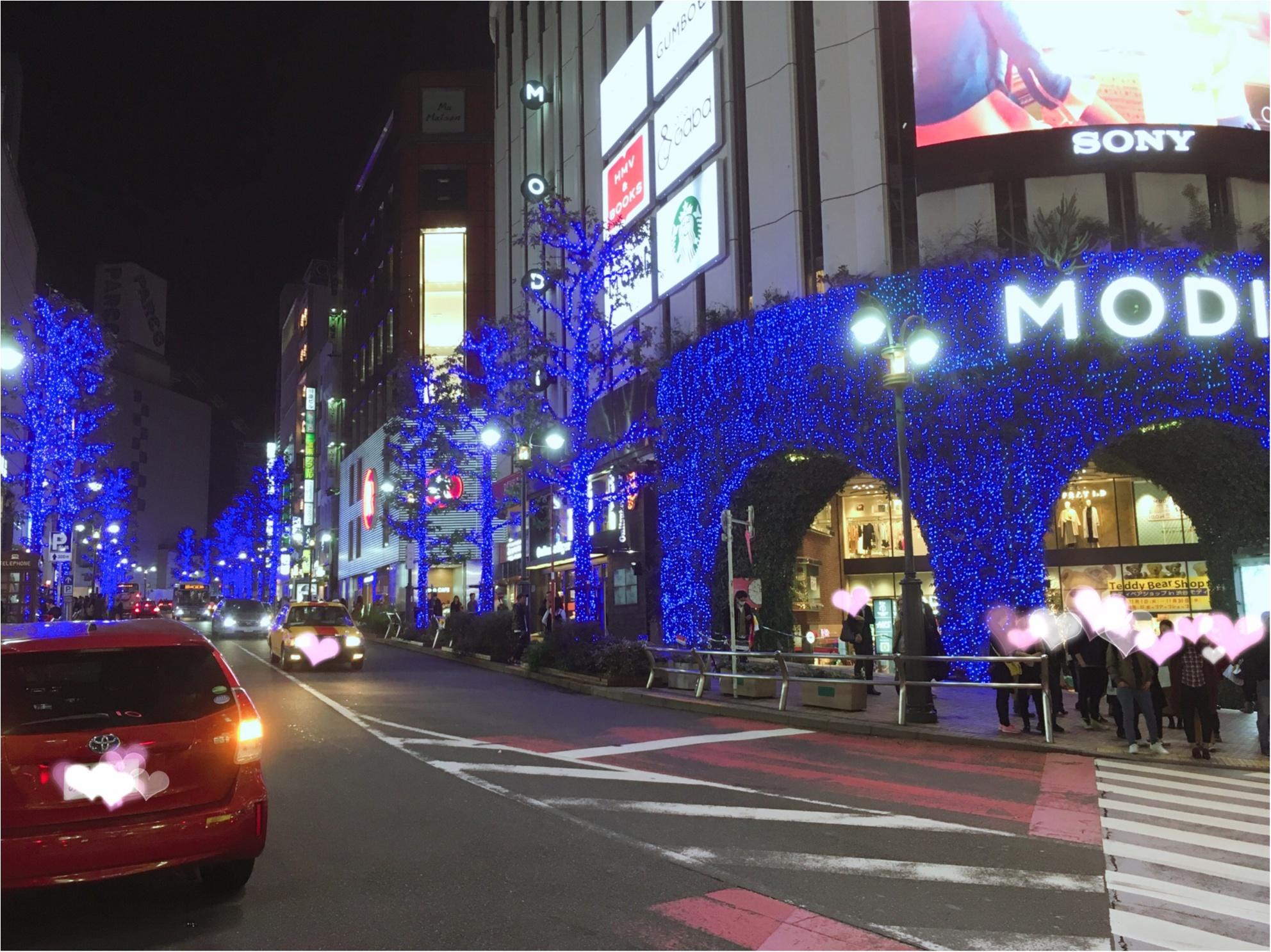 あの『青の洞窟』が渋谷に帰ってきた♡一面ブルーのイルミネーションは見逃し厳禁(*´ ˘ `*)_2