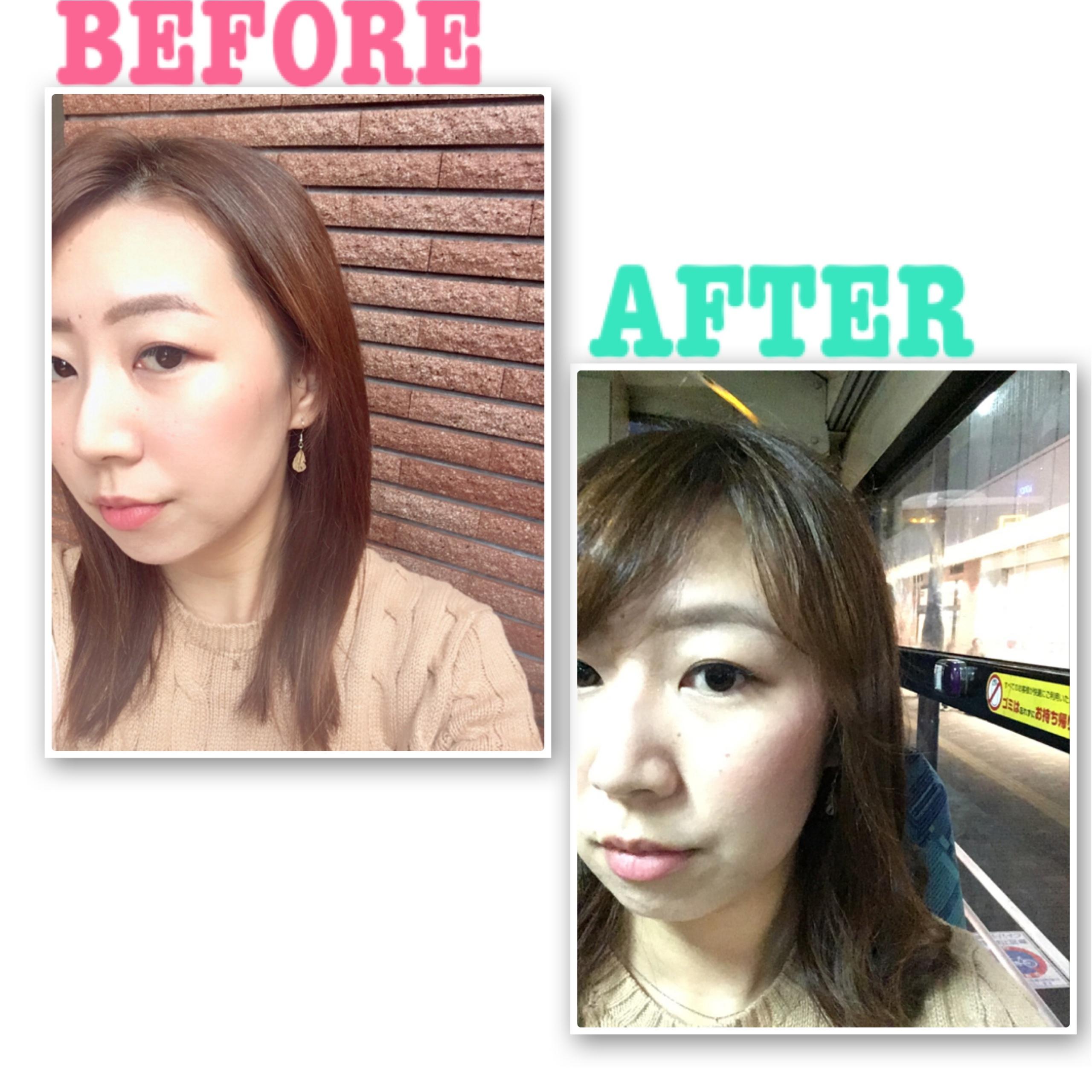 【イメチェン】5センチカットと前髪作成。_1
