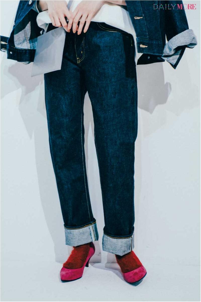 人気スタイリスト高野麻子さんの【カジュアル上手への道】真冬のデニムコーデは靴が大事! 靴がすべて!_1_4