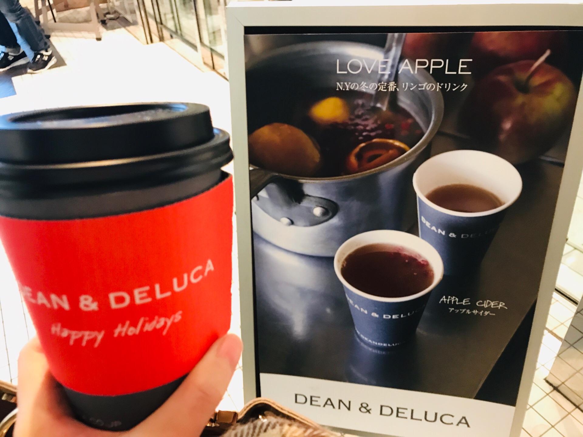 【DEAN&DELUCA】冬の定番ドリンク!《ホットアップルサイダー》今年もお目見え♡_1
