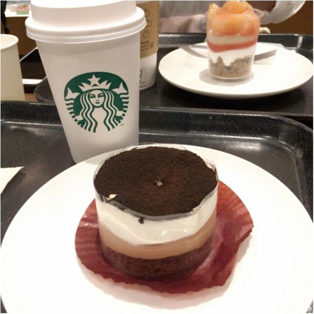 コーヒーとのペアリング◎スタバのチョコレートレイヤーケーキがオシャレおいしすぎる♡_1