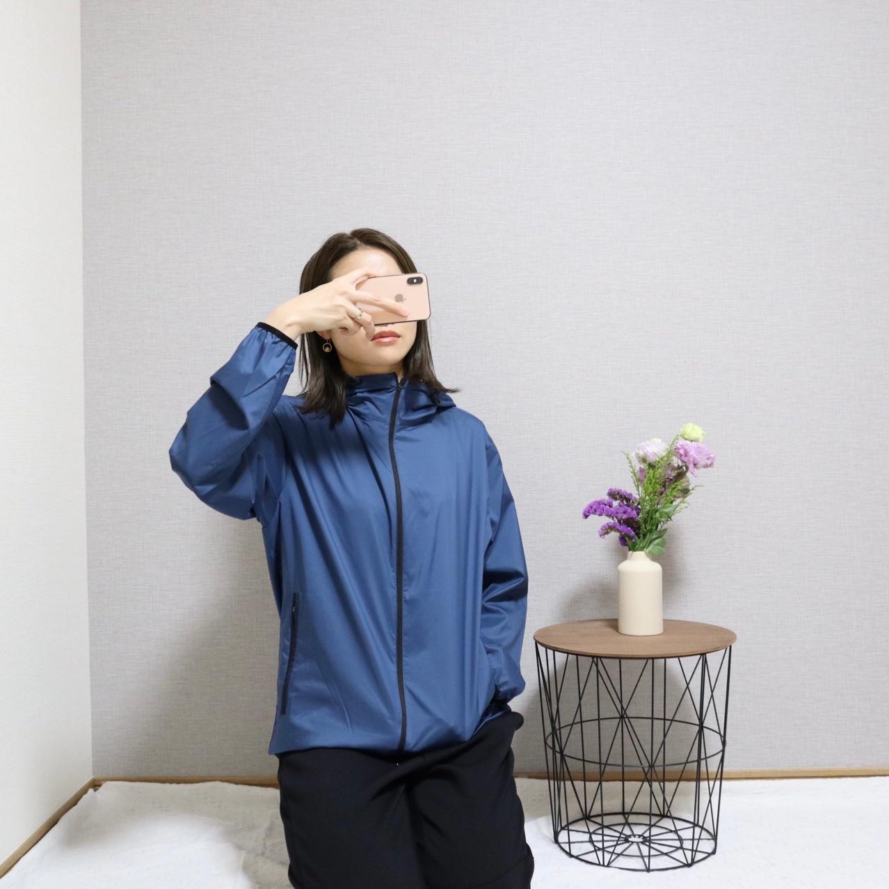 《発売初日に完売❤️》【UNIQLO × Theory】ポケッタブルUVカットパーカをゲット☻!_4