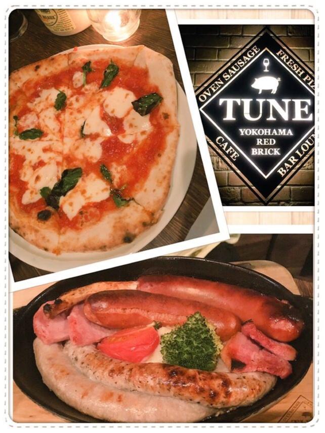 みなとみらい♡赤レンガ『TUNE』でオトナなディナーを(*´ ˘ `*)_3