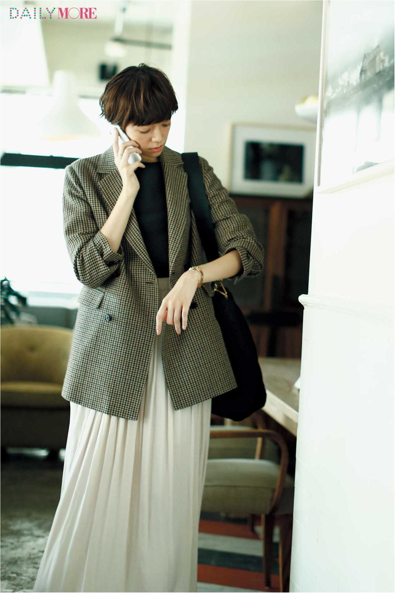 秋、お仕事服に異変あり! 3枚の【ジャケット】を、はおった人から素敵になれる。_1_1