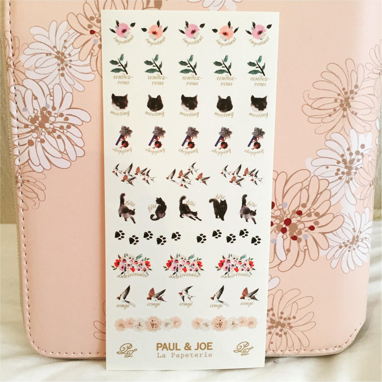 日本文具大賞受賞!!【EDit×PAUL&JOE】のコラボ手帳に新調♪♪その魅力とは...✨_5