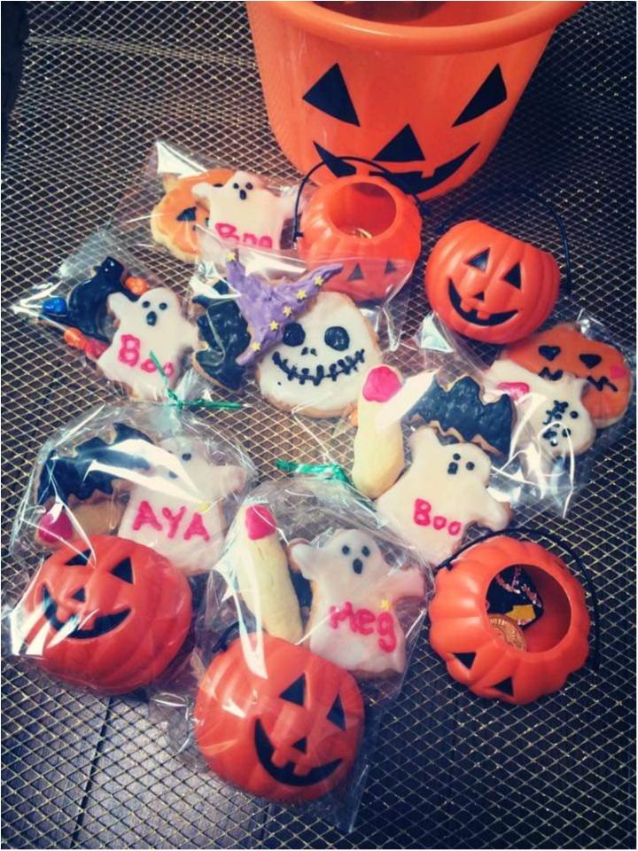 【もうすぐハロウィン】PARTYにもおすすめ、華やか可愛いアイシングクッキー(以前にした仮装の様子も)_1