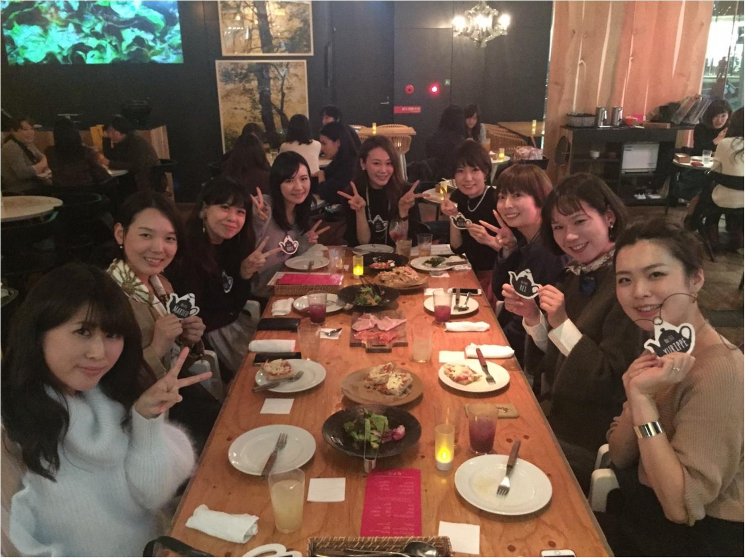 大阪梅田、GARB MONAQUEで関西モアハピ女子会♡_3