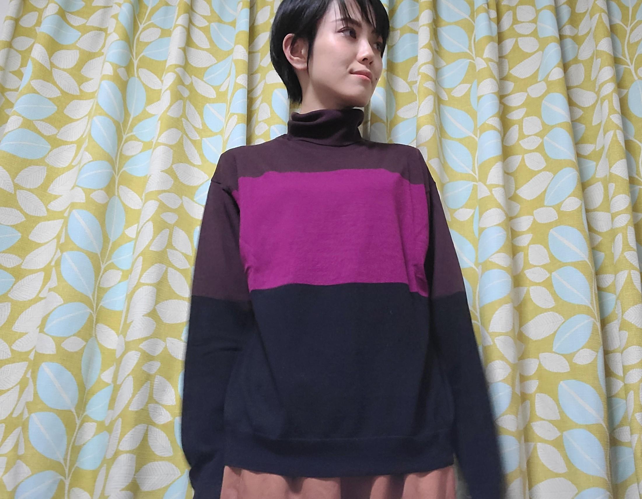 【ユニクロ+J】めちゃ使える!シンプルかわいいニット❤️_3
