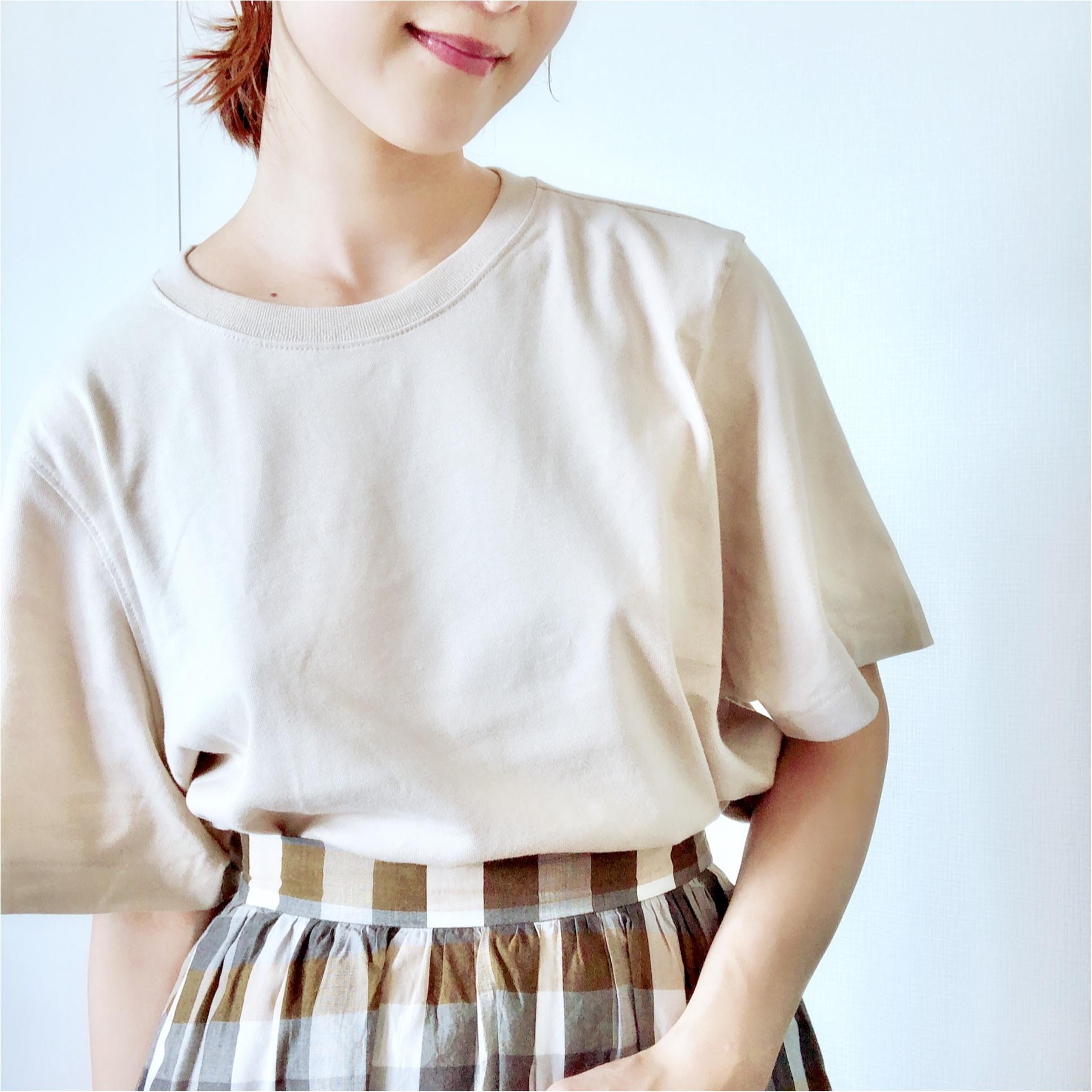 【UNIQLO】お洒落さんがこぞって買っている《話題のTシャツ》を2色買い❤️7/5までならお買い得なので急げっ!_4