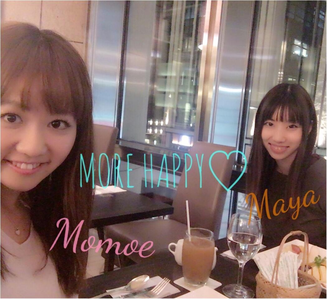 フルーツ専門店で秋の味覚を堪能(*´﹃`*)♡モアハピ9期Mayaさんと♥8期ももえの意外な関係性⠒̫⃝♡*6年前の写真も大公開です❢笑_1