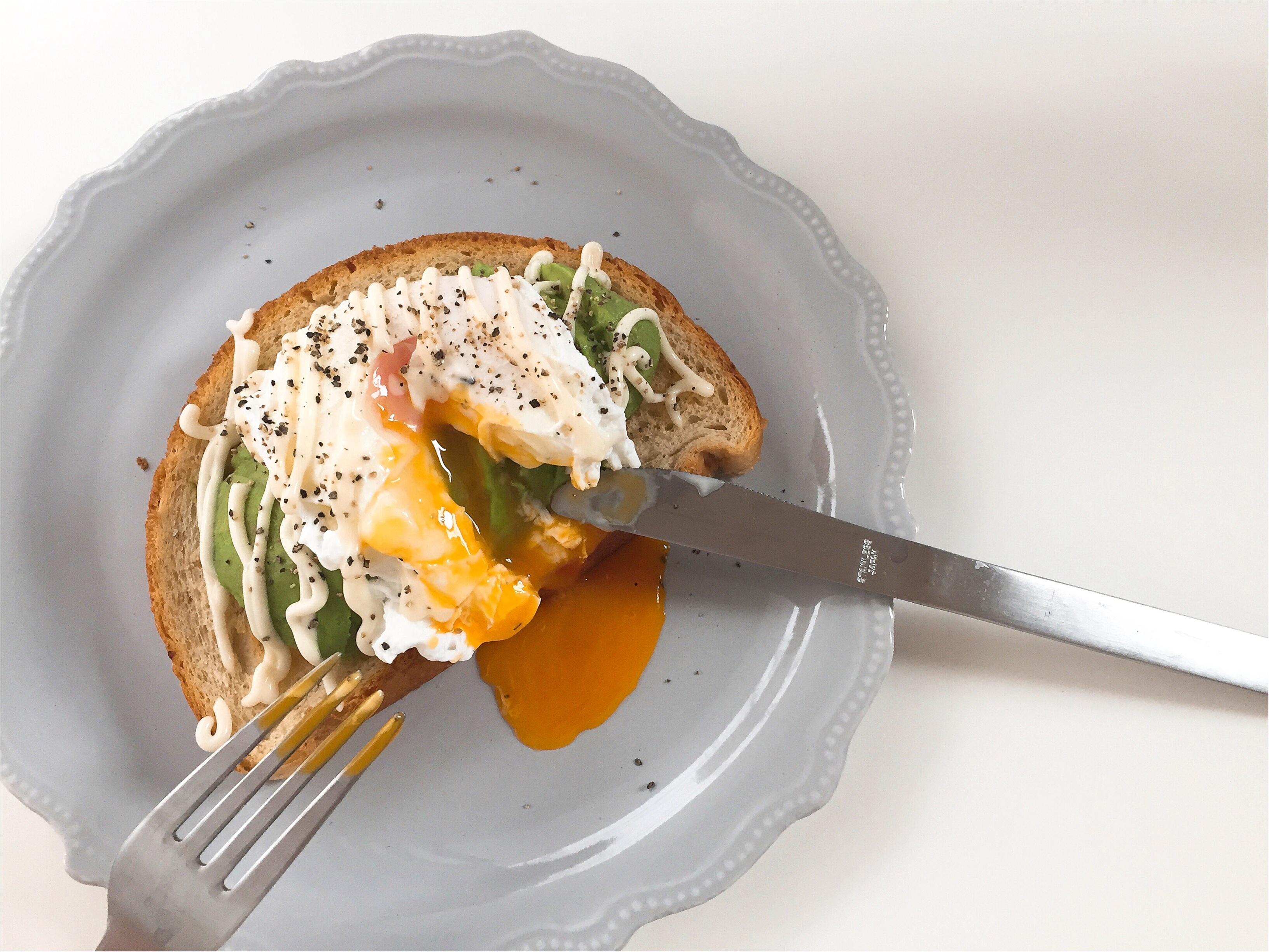 【おうちカフェ】2種類のアボカドトーストで朝ごパン!!_3