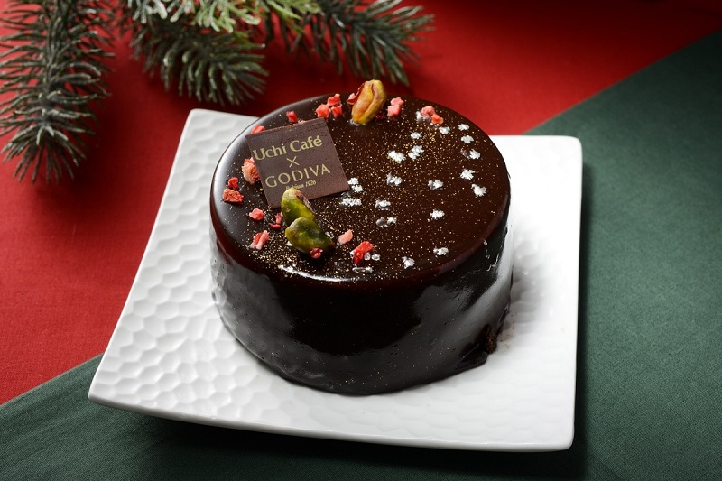 『ローソン』クリスマス向け新作スイーツ1「Uchi Café × GODIVA ショコラノエル」