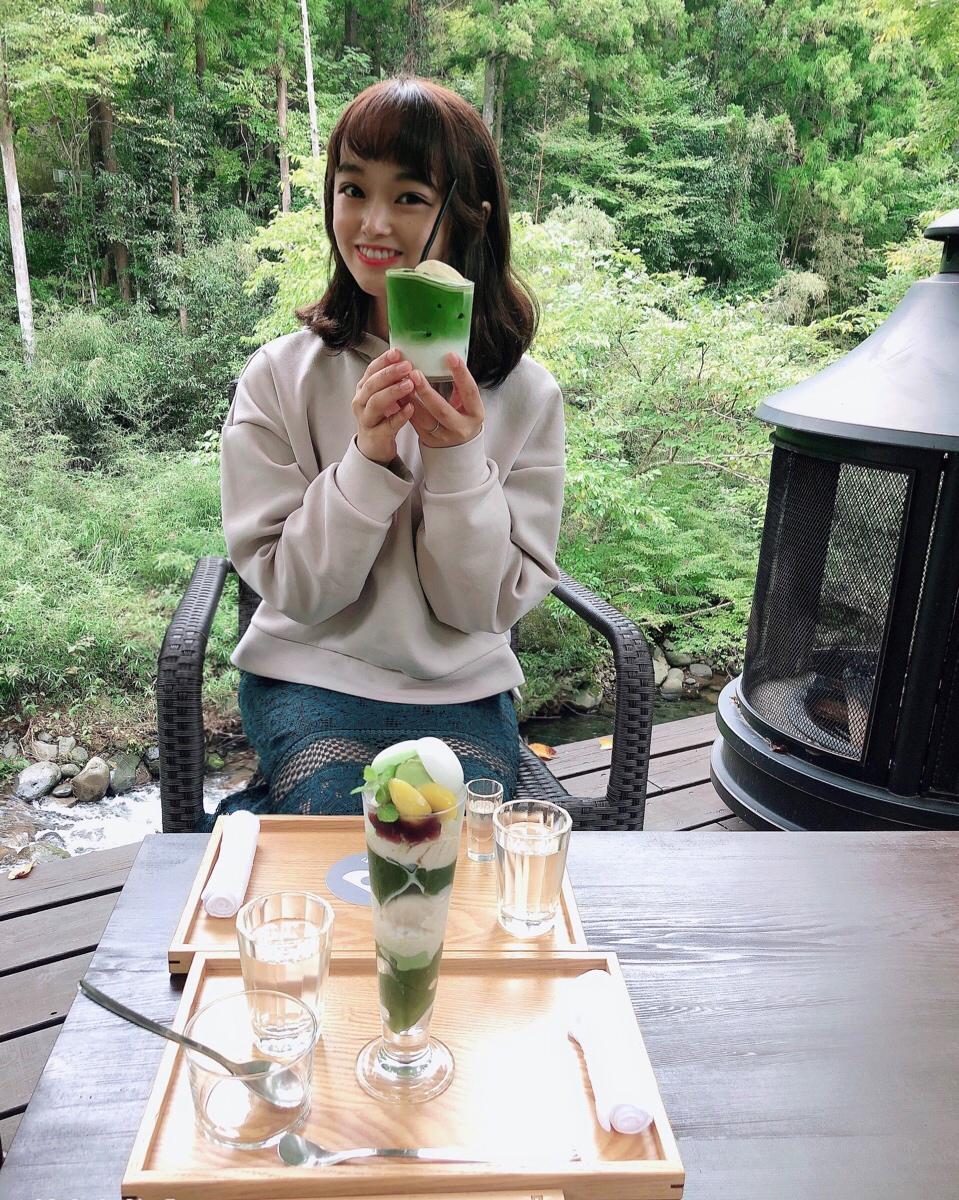 【#伊豆】渓流を眺めながら川床テラス席でリラックス♩静岡県産の抹茶が魅力!自然に癒されのんびりティータイムを☕︎_9