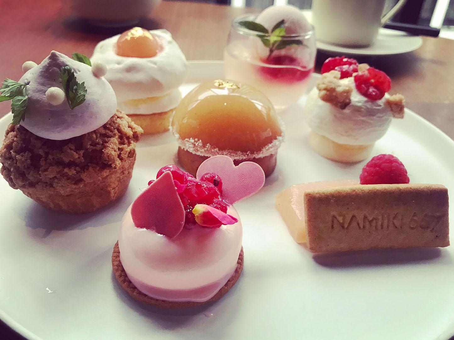 NAMIKI667のPeach Cake Set(アップ)
