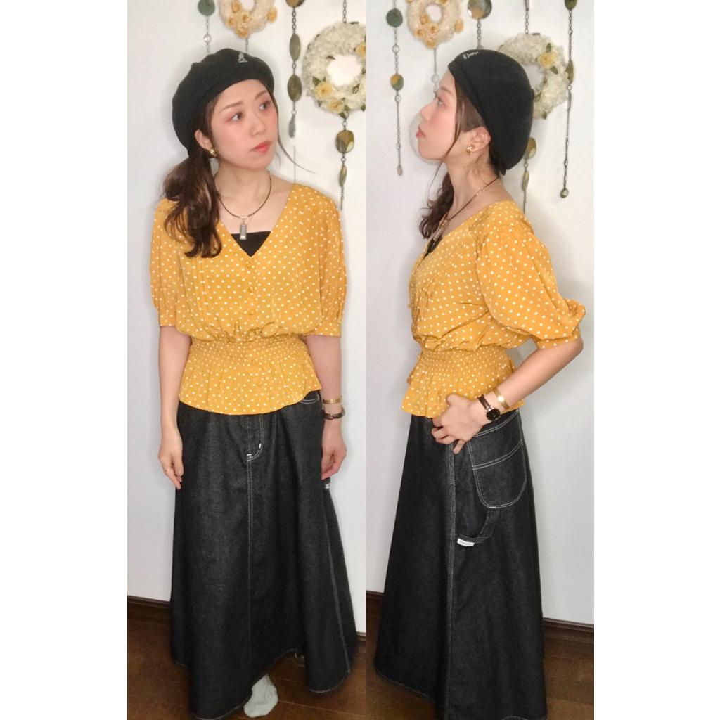 【オンナノコの休日ファッション】2020.5.27【うたうゆきこ】_1
