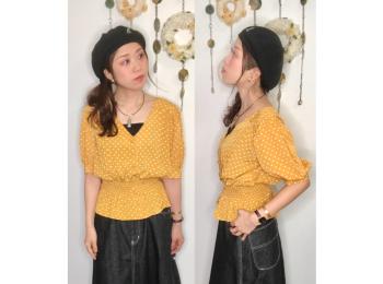 【オンナノコの休日ファッション】2020.5.27【うたうゆきこ】