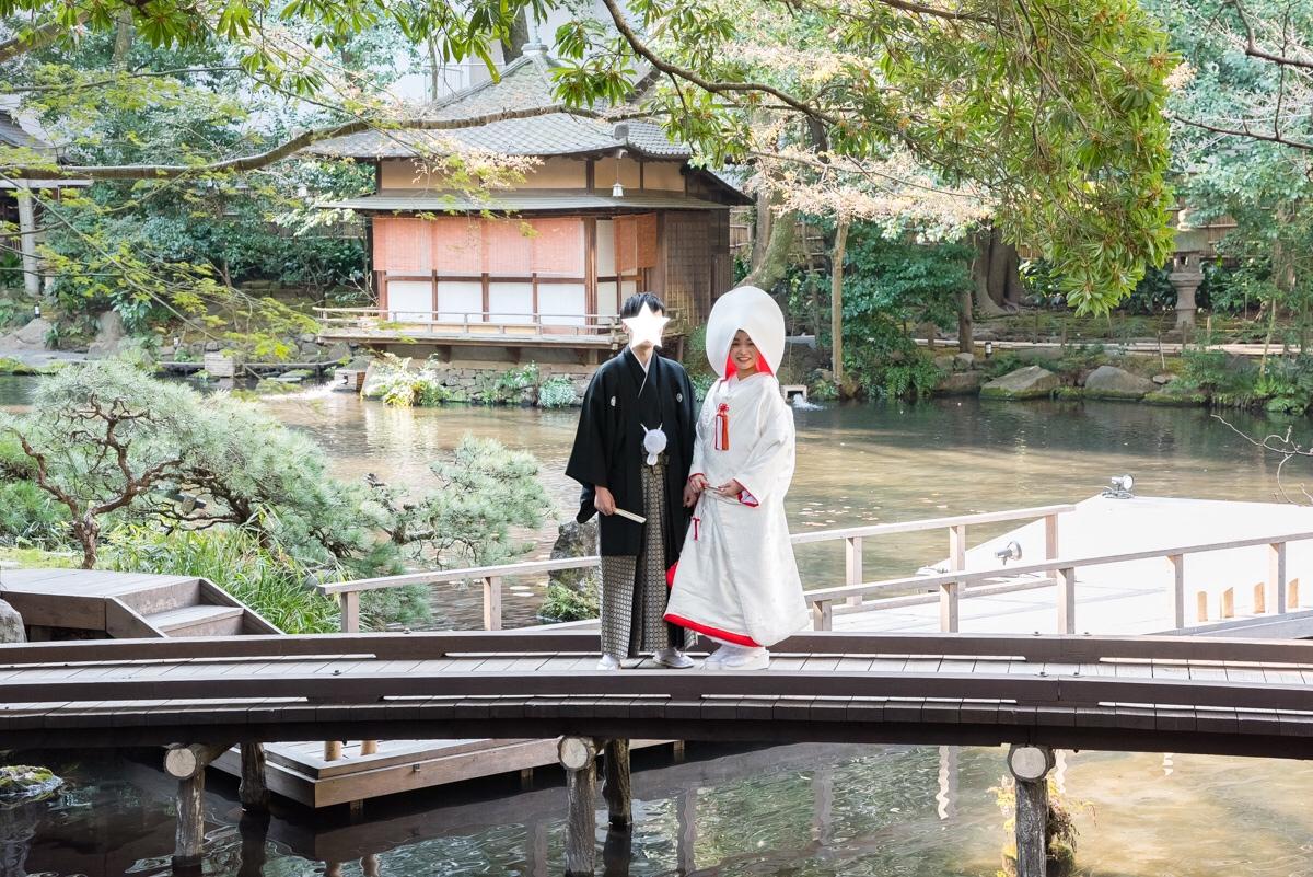 【本格和婚①】【神前式】徳川家ゆかりの神社で式を挙げました*。_1