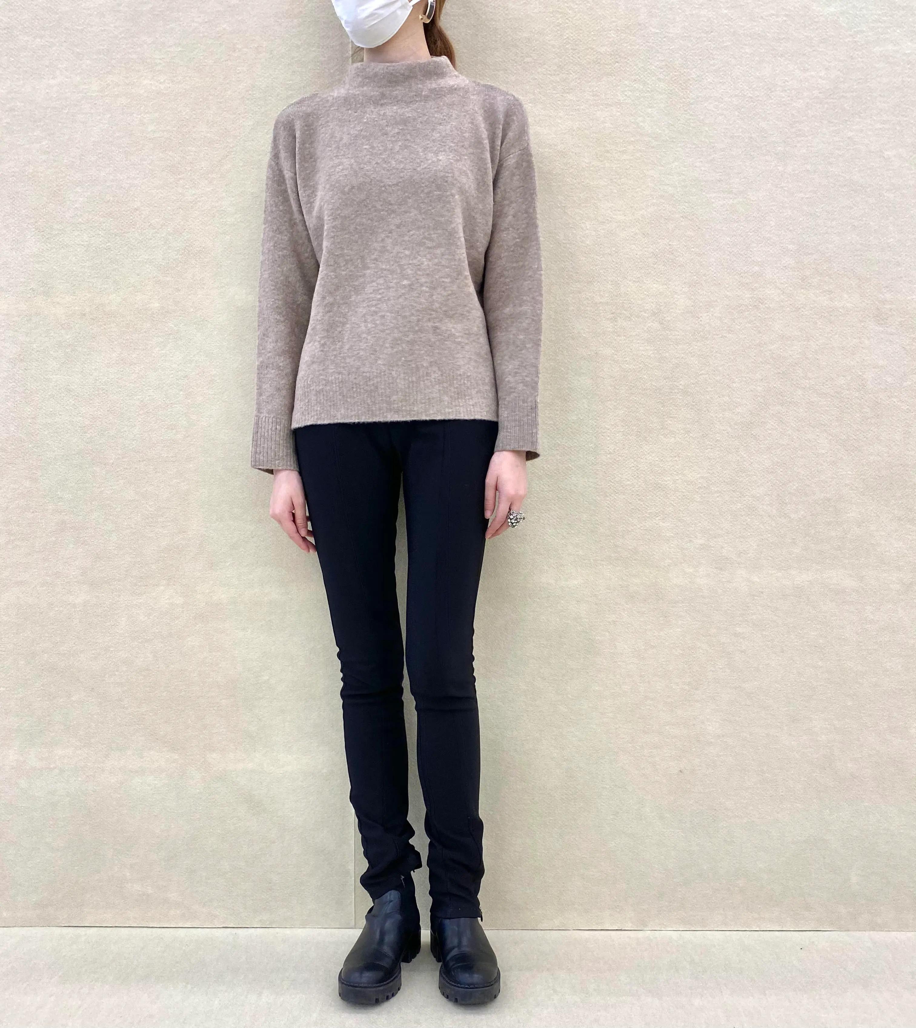 『ユニクロ』ニット全部試着してみた♡ トレンド服の着こなし6選【今週のファッション人気ランキング】_3