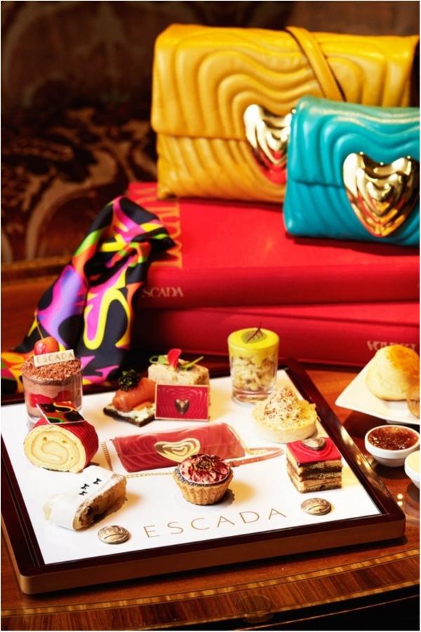 人気ファッションブランド『エスカーダ』と「ザ・リッツカールトン大阪」がコラボ! 可愛すぎるアフタヌーンティーに注目♡_1