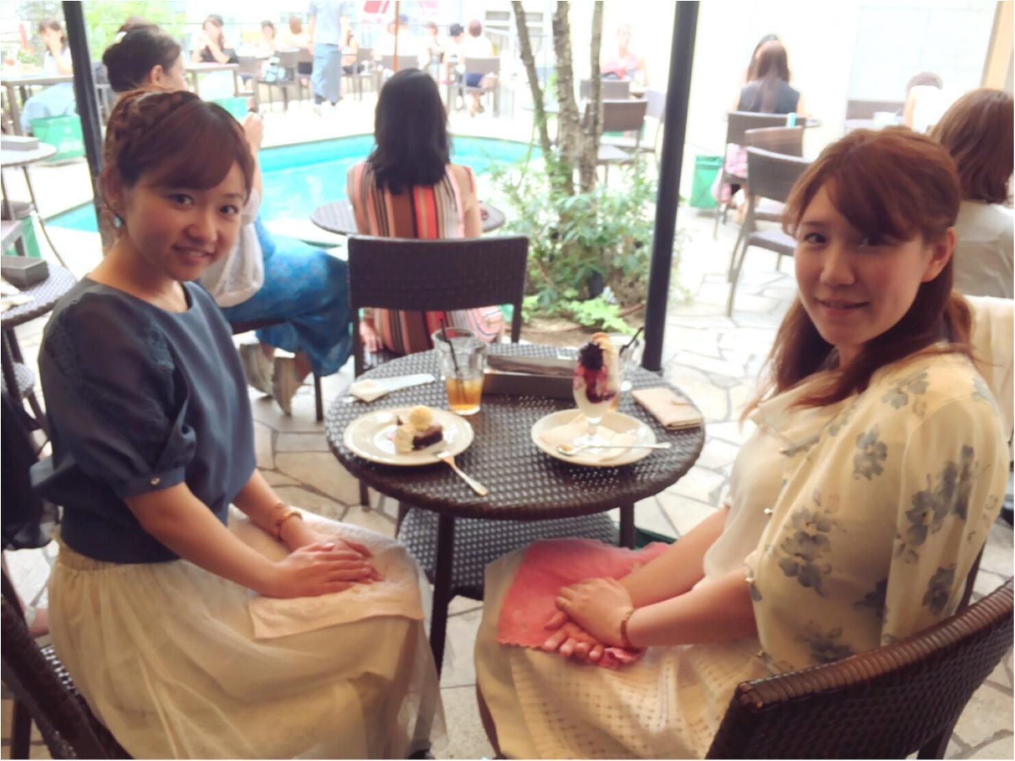 《都会のオアシス♡渋谷347cafe》プールサイドでおしゃれランチ女子会はいかが?_2