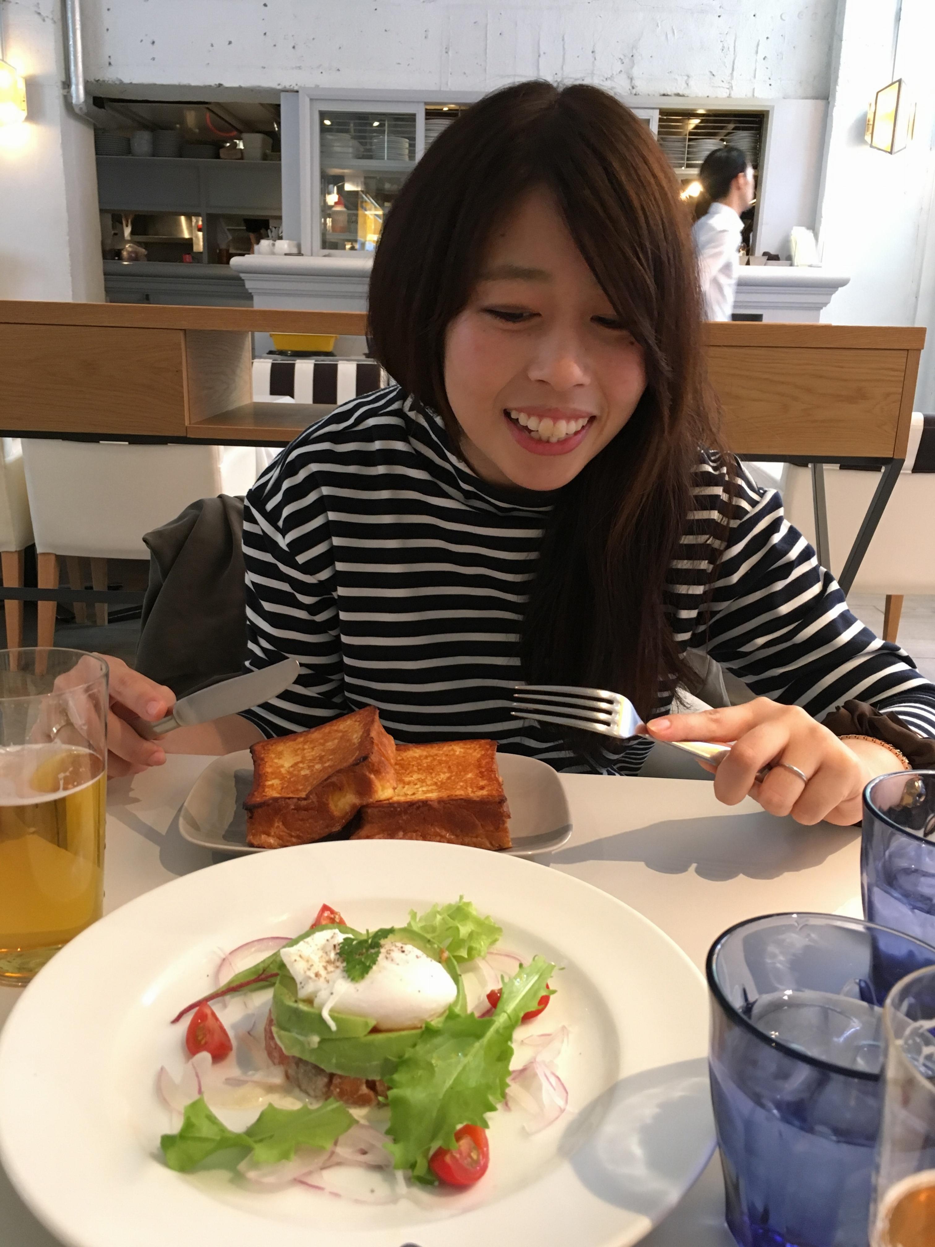 恵比寿の最強ブランチ♡M-HOUSEでブリオッシュ的なフレンチトースト的なエッグベネディクトbyじゅな_4