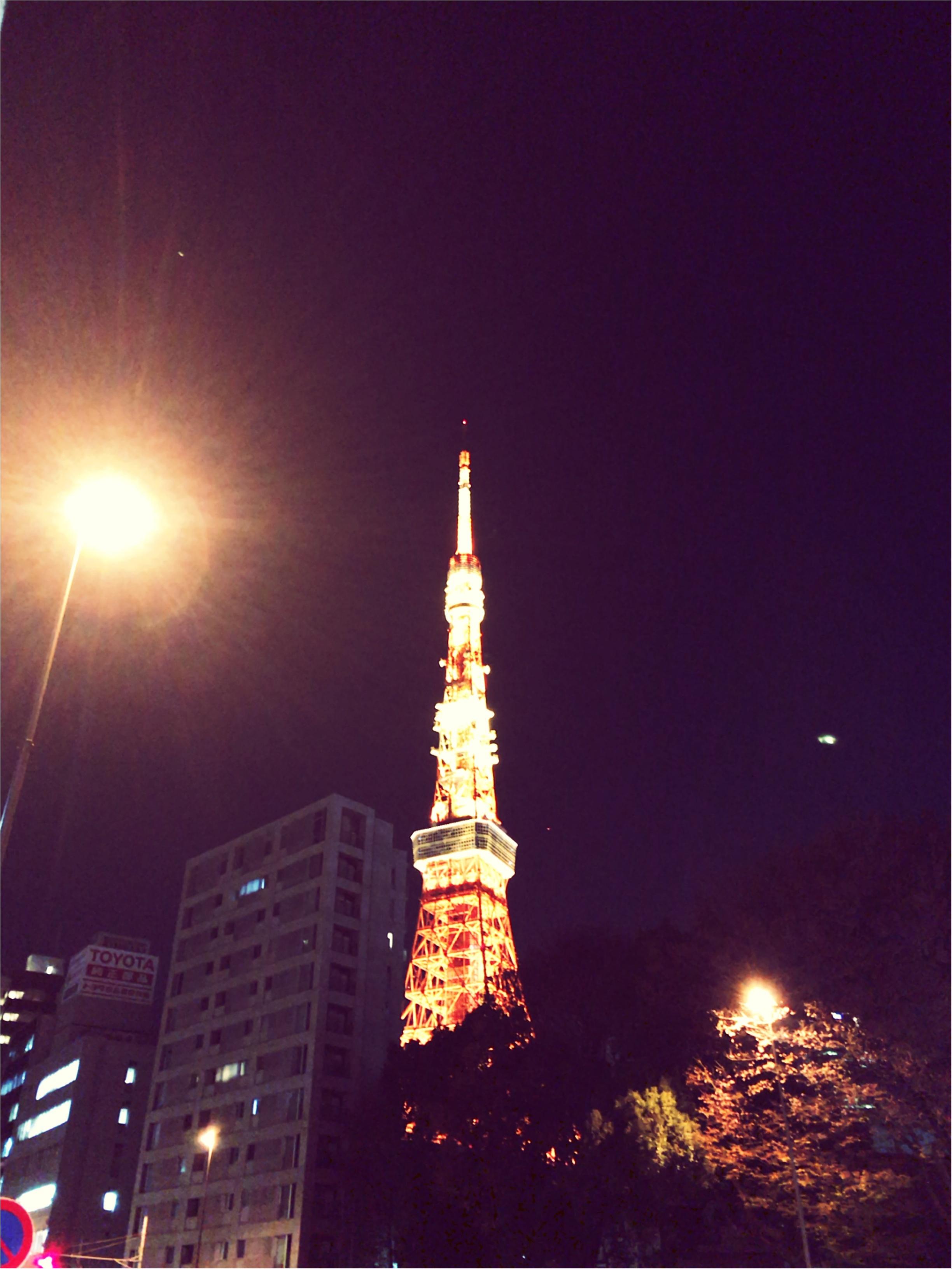 東京散歩~東京タワーのプロジェクションマッピング_1