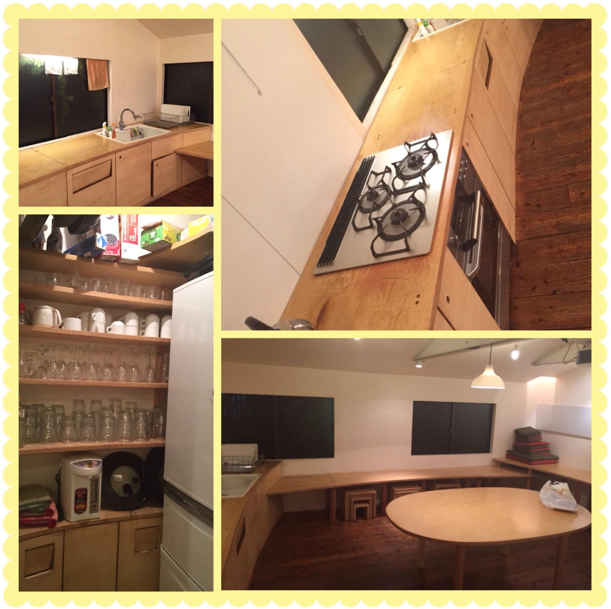 レンタルスペース【one kitchen】で夜ピクニック⁉️ルジェフルーツジャーでお洒落カクテルparty( ´ ▽ ` )ノ_1