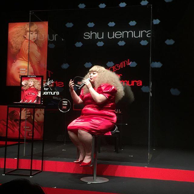 シュウ ウエムラ×渡辺直美さんのイベント「naomi for shu uemura エクスクルーシブプレゼンテーション」に行ってきました♡_2