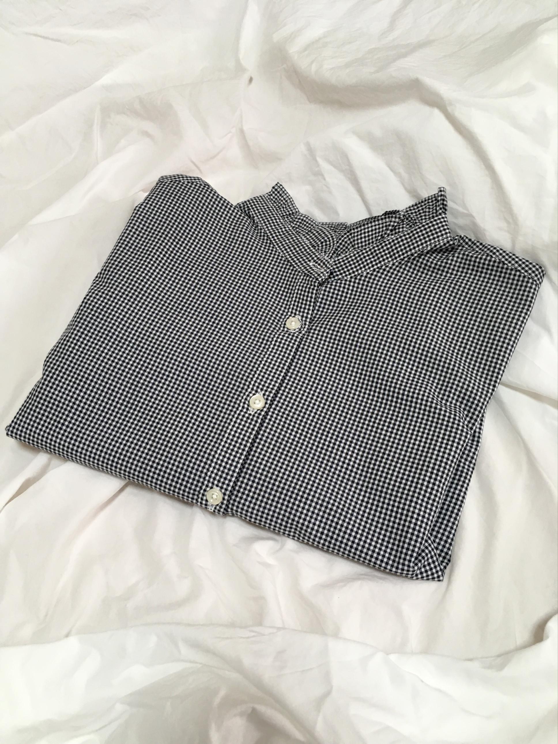 襟フリルが春らしくて可愛い♡その名もシャキシャキシャツ!_2