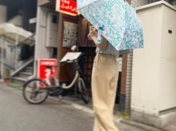 雨の日もテンションあがる折りたたみ傘