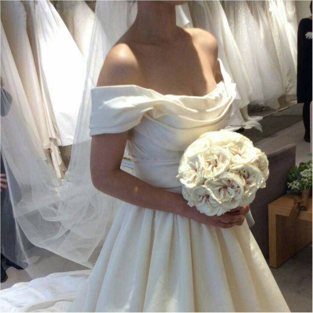 【プレ花嫁のレポ】憧れのドレスショップ(  ˊᵕˋ  )トリートドレッシングへ。ときめきが止まらない!!!_9