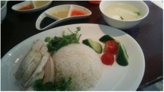 恵比寿でランチ♩海南鶏飯(ハイナンチキンライス)。_2