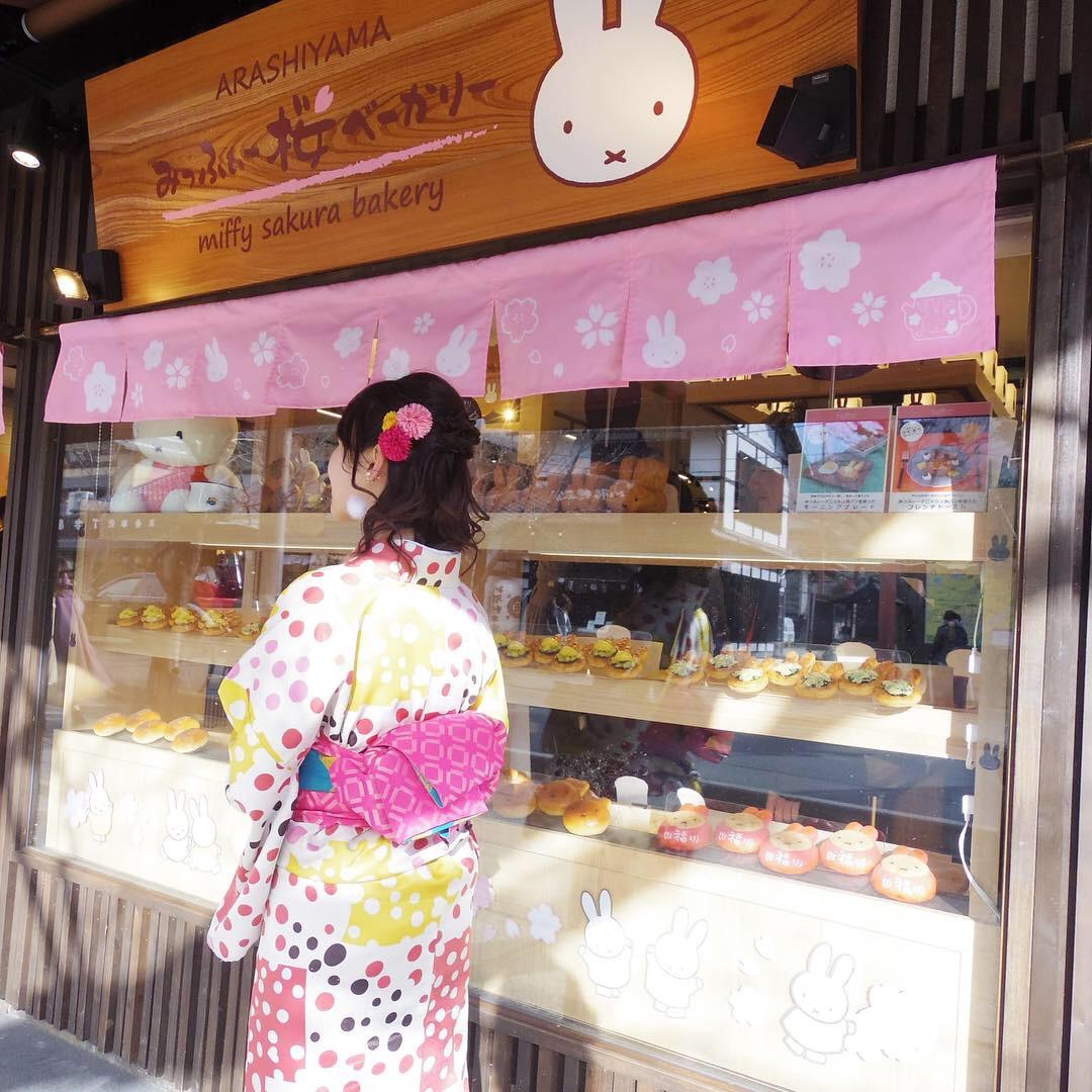 【嵐山の新名所♡】みっふいー桜きっちんの可愛すぎるパンはいかが?_2