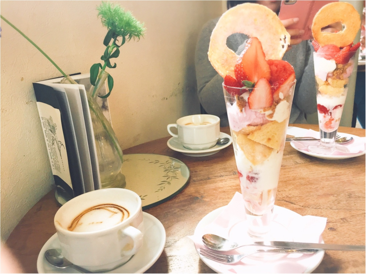 【宇都宮カフェ】今だけ!フォトジェニックで可愛い『ドーナツパフェ いちご』は食べに行くしかない!!_2