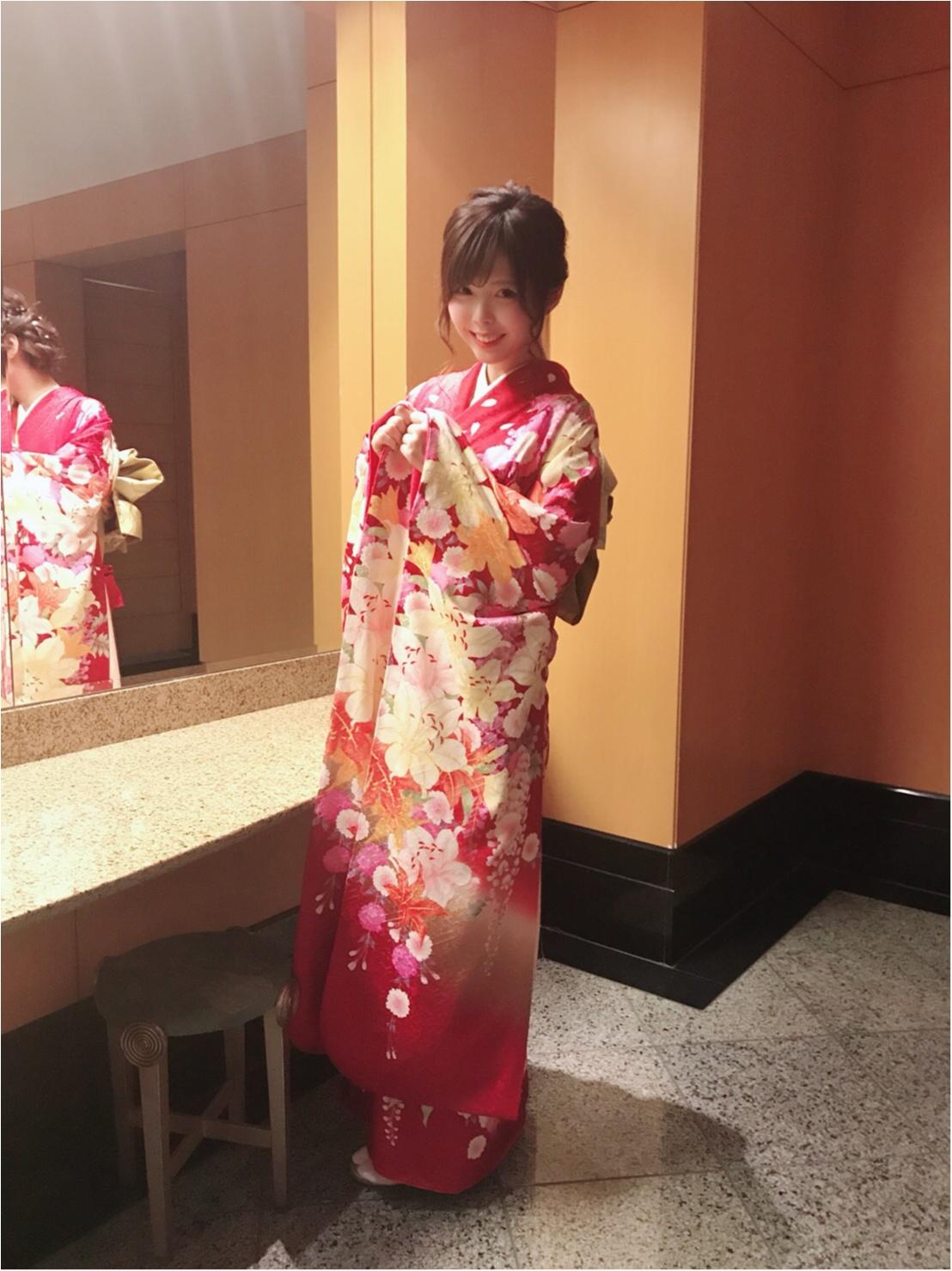 【結婚式お呼ばれに最適♡】リーズナブルなレンタル着物✩_2