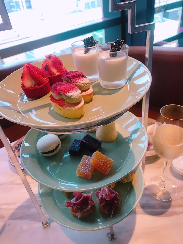 【アフタヌーンティー】銀座のbillsで優雅にafternoon tea♡_1