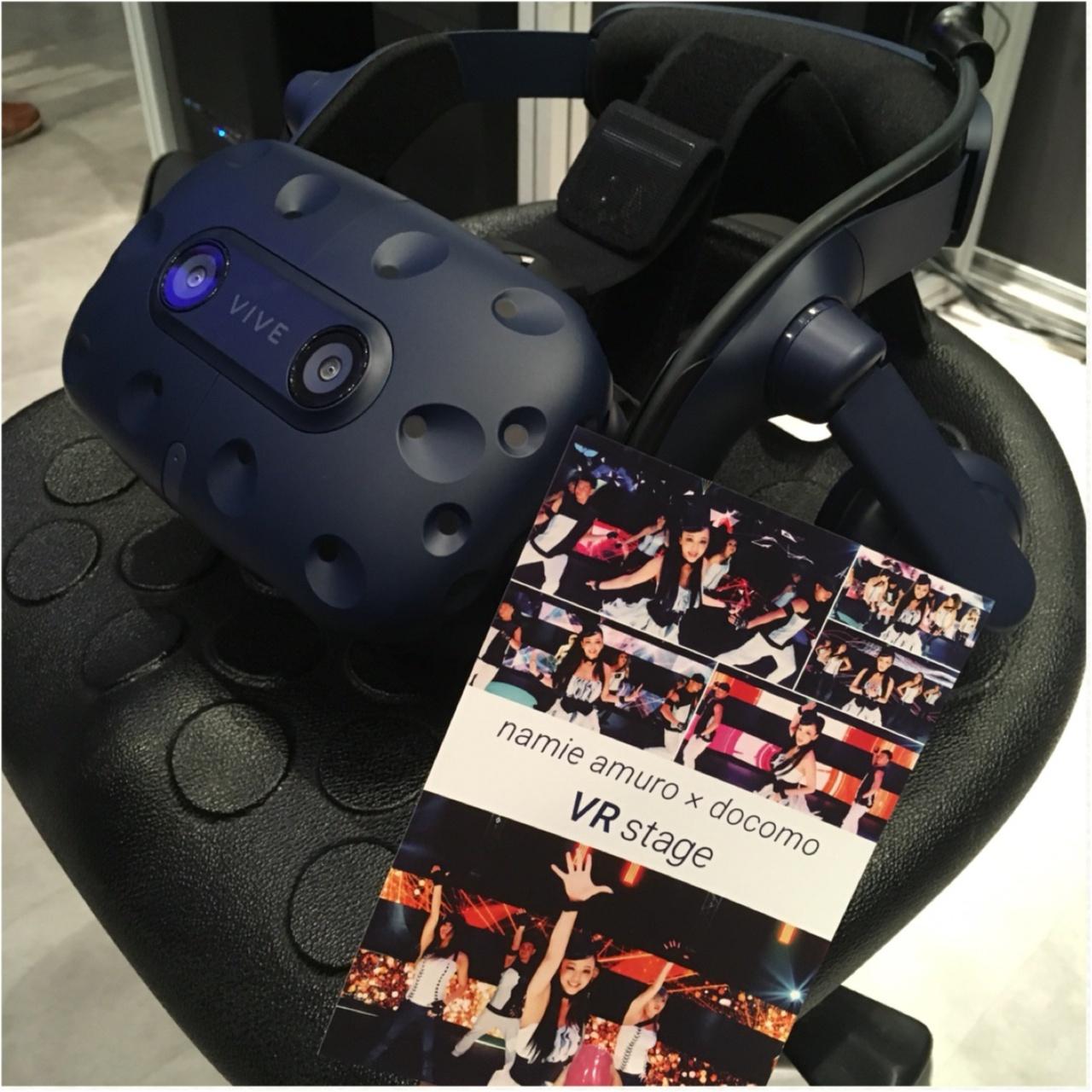 目の前に憧れの安室ちゃんが!namie  amuro×docomo VR stageを体験してきました♡_3