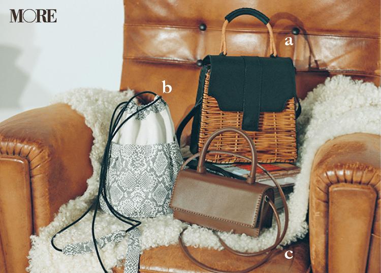 夏の黒着回しで使ったバッグ