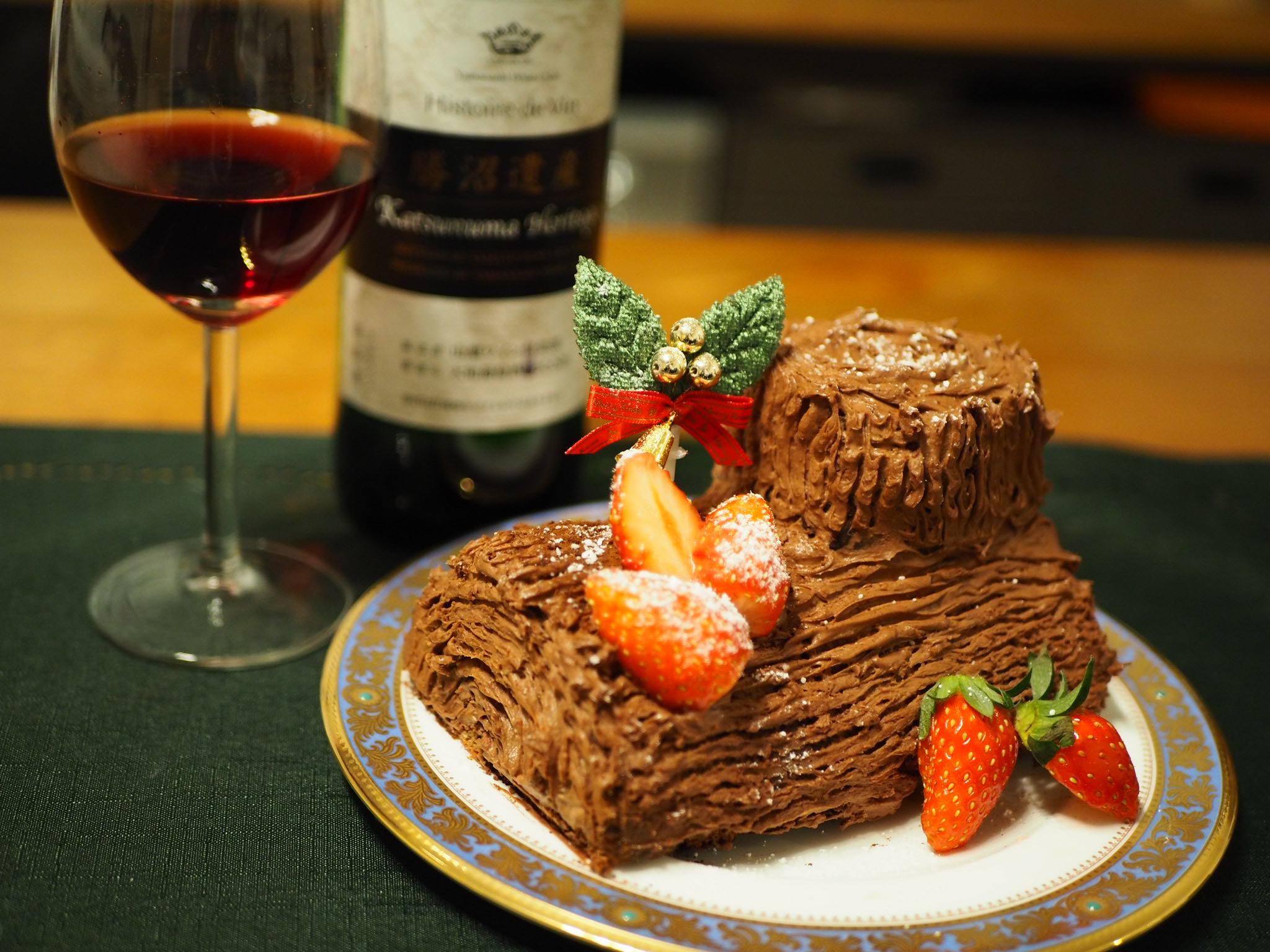 【#手作りクリスマスケーキ】簡単!ブッシュドノエルの作り方♡_7