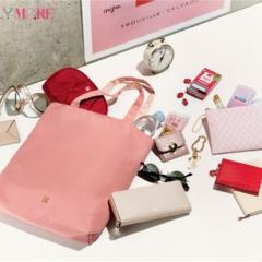おそろいポーチつき!MORE4月号の付録・SAZABYトートバッグは大人ピンクとクロスキー柄のリバーシブル仕様!!