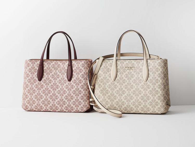 MOREプレゼントのケイトスペードニューヨークの大きめハンドバッグ